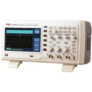 Digital-Speicher-Oszilloskop, 200 MHz, 2 Kanäle UNI-TREND UTD2202CM
