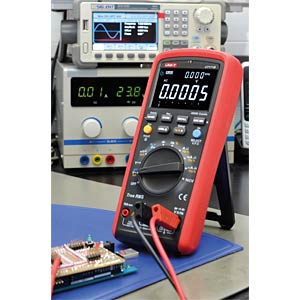 Multimeter, digital, 60000 Counts, TRMS UNI-TREND UT171B
