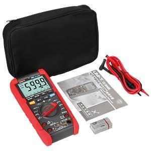 Digital multimeter for industrial use, True RMS, IP65. UNI-TREND UT195E