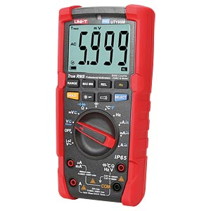 Digital multimeter for industrial use, temperature measurement UNI-TREND UT195M