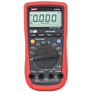 UNI-T Digitalmultimeter 4000 Counts, USB UNI-TREND UT61B
