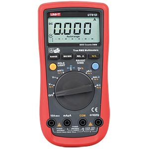 UNI-T TRMS Digitalmultimeter 6000 Counts, USB UNI-TREND UT61D