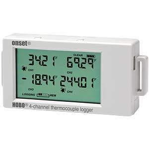 HOBO 4-Kanal Thermoelement Datenlogger HOBO UX120-014M