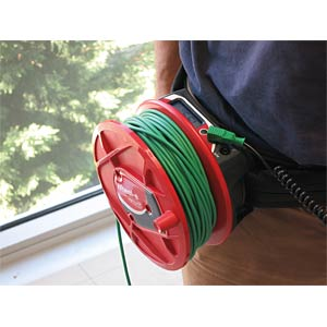 Wheel-e V2: Durchgangsprüfer mit Kabelrolle 30m ELECTRO PJP W2-DE1OH301235