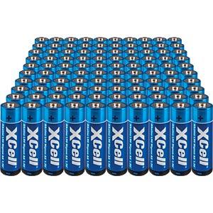 Alkalinebatterij, AA (Mignon), pakje van 100 XCELL XLR6-100ER