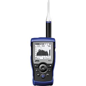 Audio-/Akustikanalysator XL2, 29 bis 144 dB, mit M4260 Mikrofon NTI AUDIO 600000341