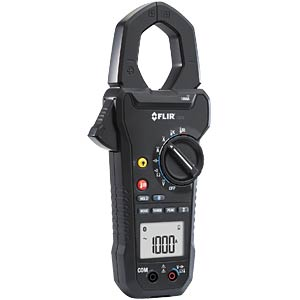 Current clamp meter, 1000A AC/DC, with IR thermometer FLIR CM78