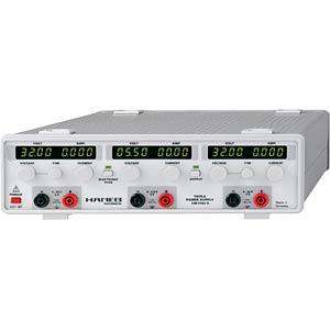 Dreifach-Netzgerät, 0 - 32 V / 2 A und 2,7 - 5,5 V / 3,3 A HAMEG HM 7042-5