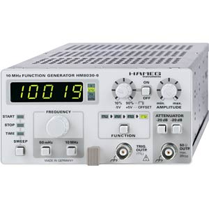 Function generator from HAMEG HAMEG HM 8030-6