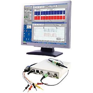 2-channel USB professional oscilloscope, CS328, KL! MEILHAUS CS10/100/4 D
