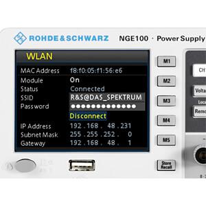 Labornetzgerät-Erweiterung für NGE100-Serie, WLAN ROHDE & SCHWARZ 5601.2210.03