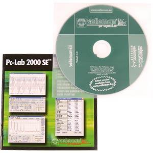 2-Kanal USB PC-Oszilloskop VELLEMAN PCSU 1000