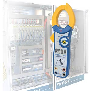Digitale stroomtang, 750 kW met USB PEAKTECH P 1660