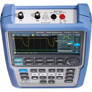 Handheld-Oszilloskop RTH1002, 500 MHz, 2 Kanäle, Multimeter ROHDE & SCHWARZ 1317.5000P52