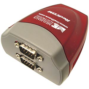 Interface converter, USB to 2 x RS-232 MEILHAUS USB-2COM
