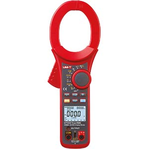 TRMS digital clip-on measuring instrument, 2500A AC / DC UNI-TREND UT222