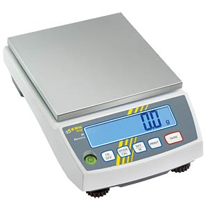 Precisieweegschaal, standaard-laboratoriumweegschaal, 6000 g KERN-SOHN PCB 6000-1