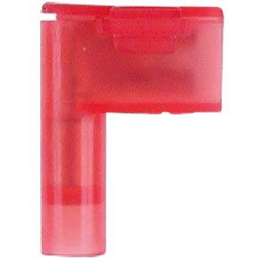 Winkel Flachsteckhülsen - 4,8x0,5, 0,5 … 1,5 mm², rot, easy crim WE EISENACHER F6131485