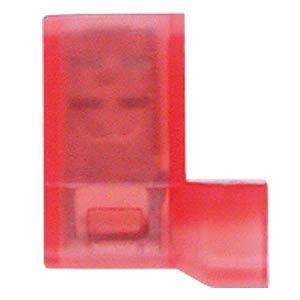 Winkel Flachsteckhülsen - 4,8x0,8, 0,5 … 1,5 mm², rot WE EISENACHER F613488