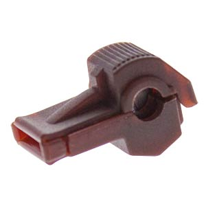 Abzweigklemmverbinder - 0,5 … 1,5 mm², Nylon, rot FREI K429005