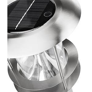 LED-Solarleuchte, Wandleuchte, mit Bewegungsmelder, silber, IP44 SMARTWARES 10.048.12