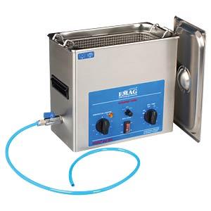 Ultraschallreiniger, 6 l , 760 W, mit Heizung, Edelstahl EMAG 60012