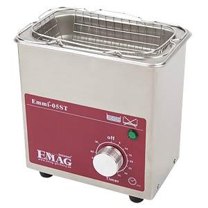 Ultraschallreiniger, 0,5 l , 60 W, Edelstahl EMAG 98392