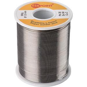 Lötzinn bleihaltig/halogenhaltig,Ø 1,0 mm, 500 g FIXPOINT 51067