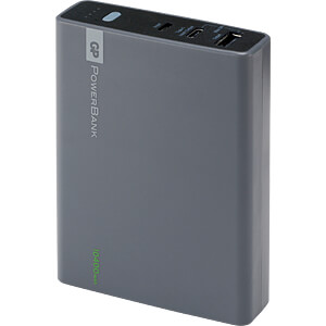 Powerbank, Li-Ion, 10400 mAh, USB-C GP-BATTERIES 1301C10AAGREY