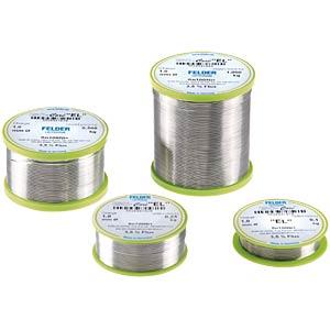 Lötzinn bleifrei mit Silberanteil,Ø 0,75 mm, 250 g FELDER LÖTTECHNIK 20960720