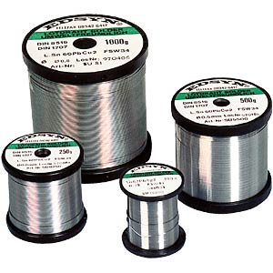 Solder wire, 1 mm, Sn95.5AgCu0.7,F-SW34, 250 gr EDSYN SAC1250