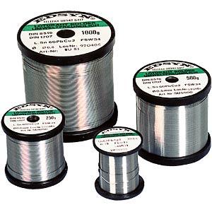 Soldeerdraad, 0,5mm, Sn95,5AgCu0,7,F-SW34, 250gr EDSYN SAC5250