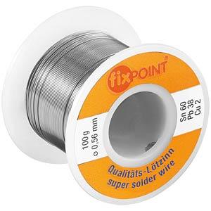 Lötzinn bleihaltig/halogenhaltig,Ø 0,5 mm, 100 g FIXPOINT 51062