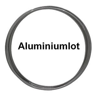 Aluminiumlot bleihaltig mit Silberanteil,Ø 1,0 mm, 7,4 g DONAU LZA1