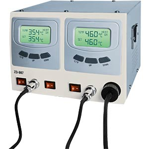 Digital soldering and desoldering station ZD-987, 60/80 watts ZHONGDI