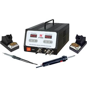 Digital soldering and desoldering station LF 8800 100 Watt XYTRONIC LF-8800