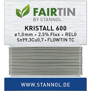STA 600 TC 1,0W - Lötzinn Kristall 600 bleifrei mit Kupferanteil