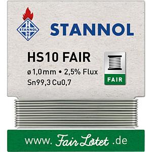 STA HS10F TC1,0W - Lötzinn HS10 FAIR bleifrei mit Kupferanteil