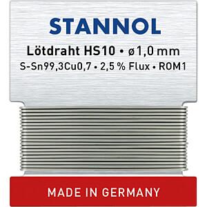 STA HS10 TC 1,0W - Lötzinn HS10 bleifrei mit Kupferanteil