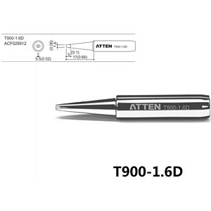 ATTEN T900-1,6D - Lötspitze