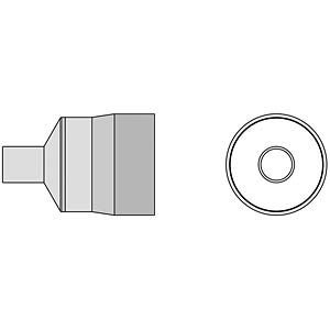Heißluft Runddüse Ø 7 mm, für WTHA 1 WELLER T0058768744