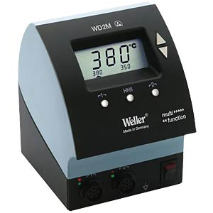 Weller soldering station, 2-channel, digital, 160 watts WELLER T0053411699