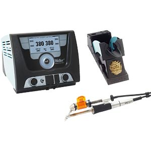 WELLER soldering/desoldering set including WXDP 120 WELLER T0053428699