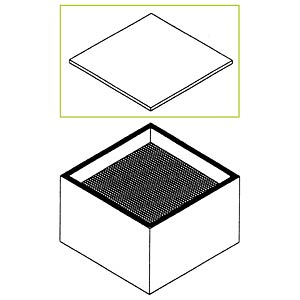 Feinstaub-Vorfilter, M12, für Lötrauchabsaugung WFE2ES/ CS / ZS2 WELLER T0058762703