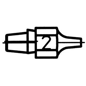 Entlötspitze DX 112, 2,3 mm, rund, gerade WELLER T0051314299