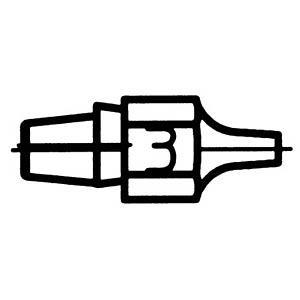 Entlötspitze DX 113, 2,5 mm, rund, gerade WELLER T0051314399