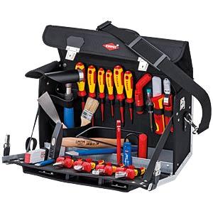 Werkzeugsatz, Werkzeugtasche, Elektriker, 23-teilig KNIPEX 70 01 140