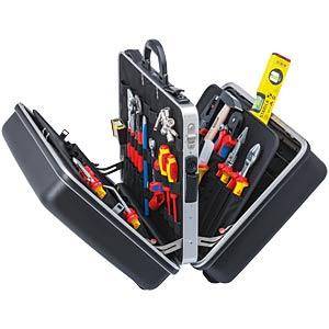 Werkzeugsatz, Werkzeugkoffer, Elektriker, 63-teilig KNIPEX 00 21 40