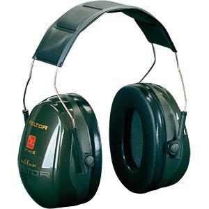 Gehörschutz, Peltor Optime II, Kapsel, grün, EN352-1:1993, 31 dB 3M ELEKTRO PRODUKTE H520A