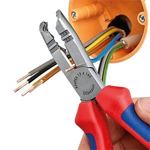 Abmantelwerkzeug, 165 mm, für Rundkabel, 1,5-2,5 mm² KNIPEX 13 42 165
